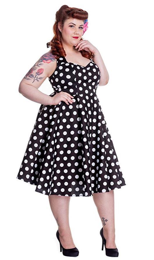 15 plus size polka dot outfits 1 - 15 plus size polka dot outfits 1
