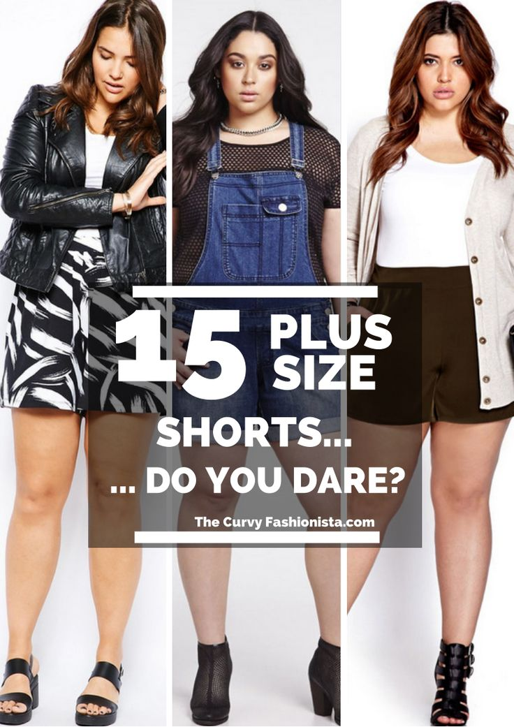 5 outfits with plus size shorts that you will love 3 - 5-outfits-with-plus-size-shorts-that-you-will-love-3