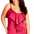 5 plus size outfits with a satin top for valentines day 4 120x120 - 5 plus size outfits with a satin top for Valentine's day