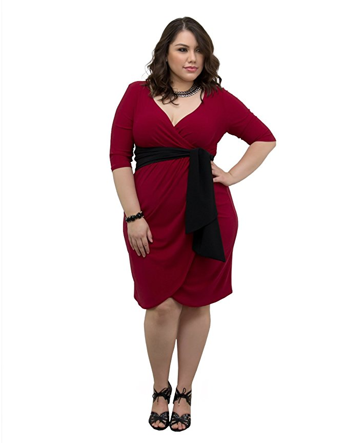 5 plus size red dresses for Valentines day 2 - 5 plus size red dresses for Valentine's day 2