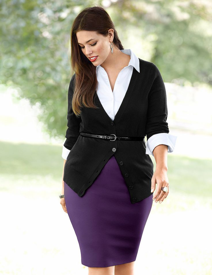 5 stylish plus size outfits for job interview 2 - 5-stylish-plus-size-outfits-for-job-interview-2