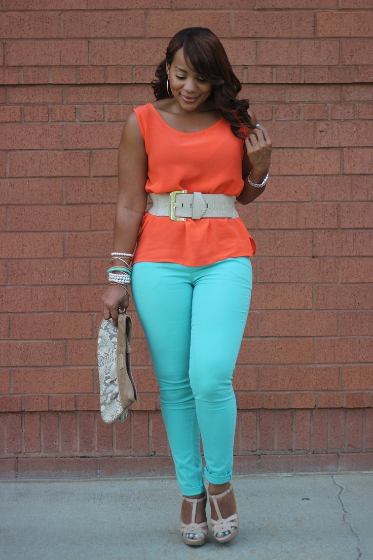5aad43ed943 5 ways to adopt the color block style without looking frumpy - Page ...