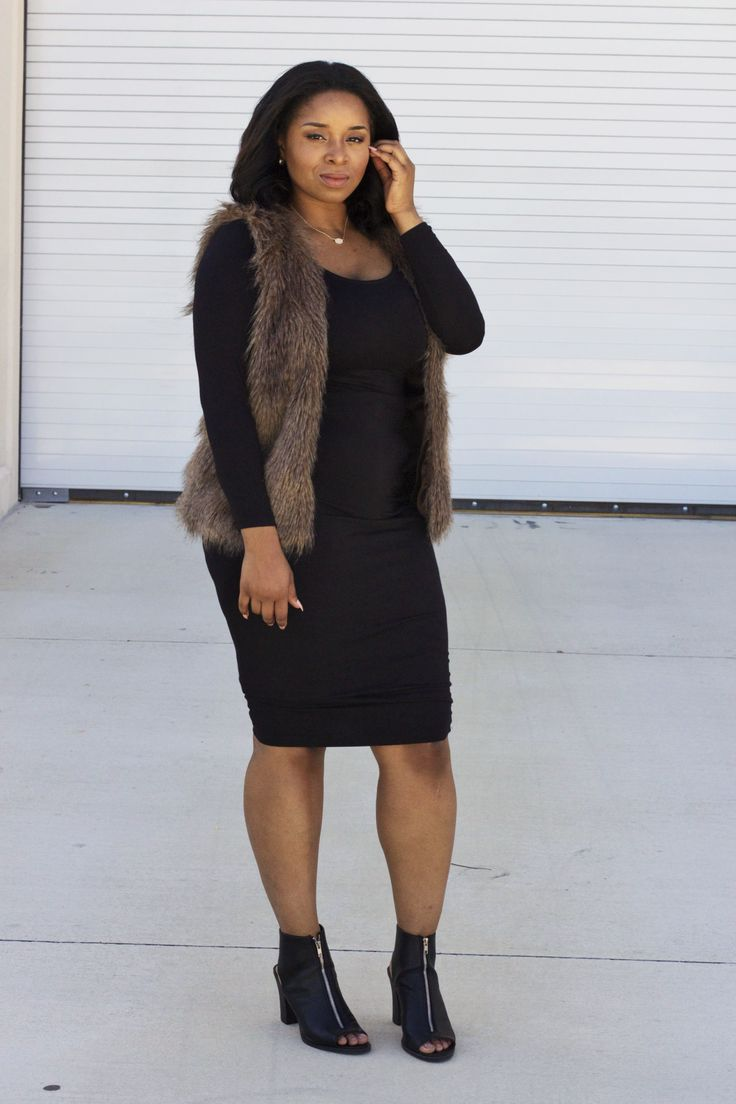 5 ways to wear a plus size fur vest that you will love - 5 ways to wear a plus size fur vest that you will love