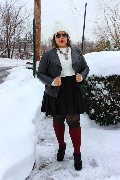 5 ways to wear knee high socks without looking frumpy 1 - 5-ways-to-wear-knee-high-socks-without-looking-frumpy-1