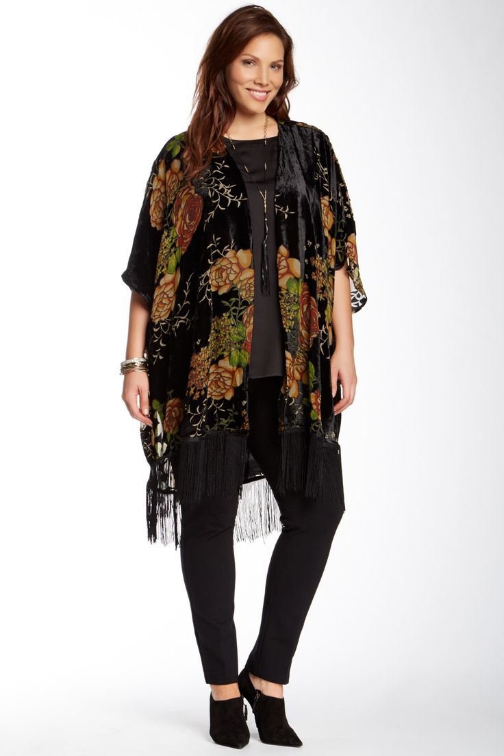 5 ways to wear the velvet kimono without looking frumpy ...