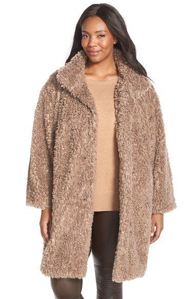how to combine plus size casual outfits with a faux fur coat 3 - how-to-combine-plus-size-casual-outfits-with-a-faux-fur-coat-3