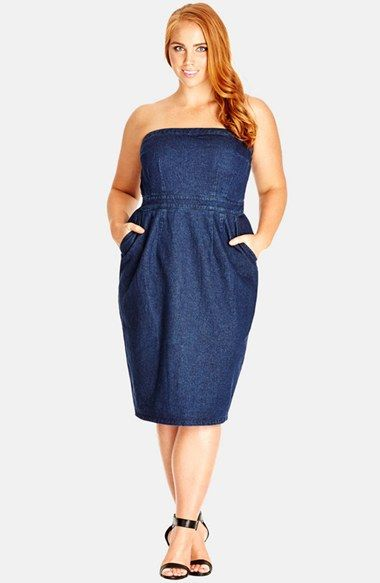 how to wear denim dresses without looking frumpy 2 - how-to-wear-denim-dresses-without-looking-frumpy-2