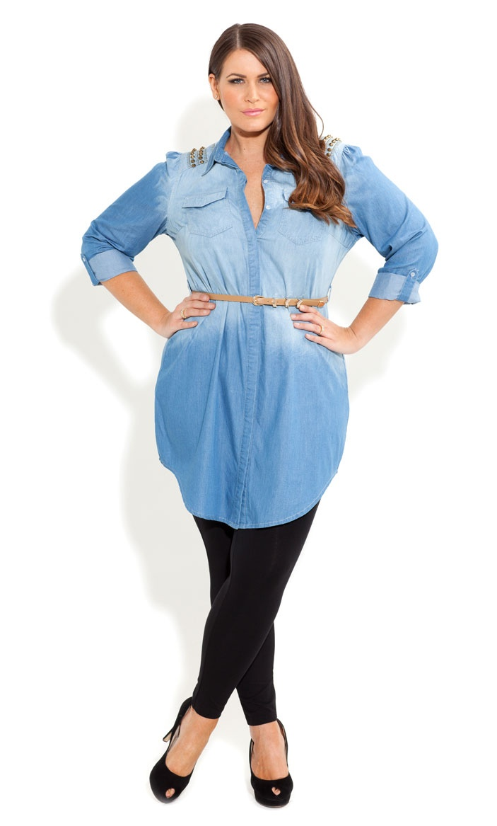 How to wear denim dresses without looking frumpy - Page 5 of ...
