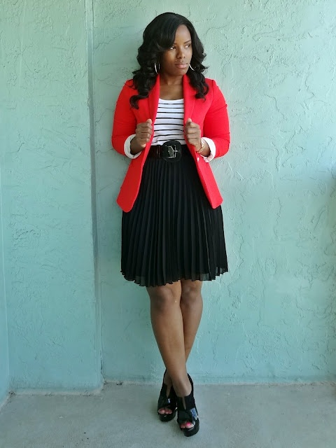 5 all day outfits with red blazer that you will love 4 - 5-all-day-outfits-with-red-blazer-that-you-will-love-4