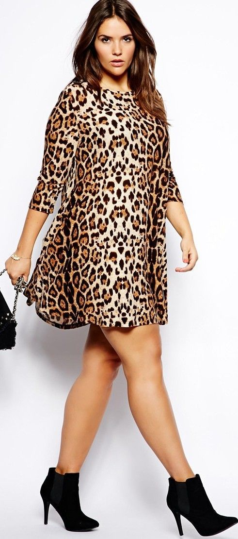 5 animal print outfits for plus size girls that you will ...