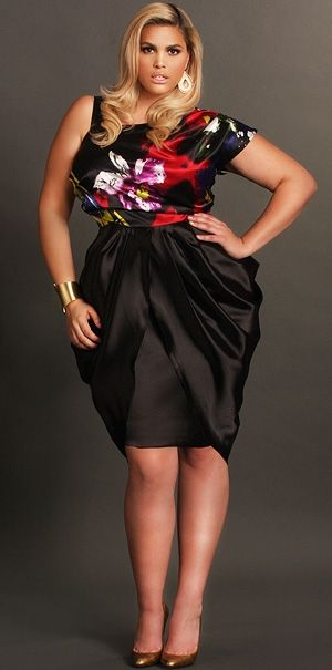 5 Black Satin Dresses For Curvy Stylish Women Page 5 Of 5