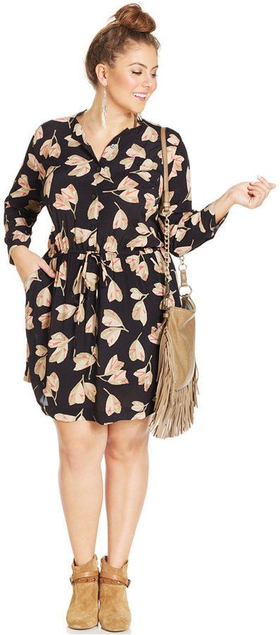 5 chic floral dresses for plus size girls that you will love 1 - 5-chic-floral-dresses-for-plus-size-girls-that-you-will-love-1