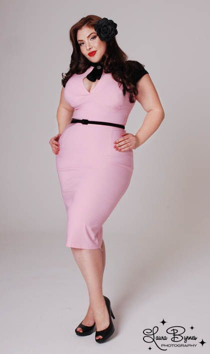 5 Pink Pastel Dresses For Plus Size Girls Curvyoutfits