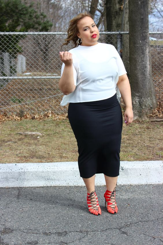 6c6d446b8e74 5 plus size midi skirts that flater your silhouette - Page 5 of 5 ...
