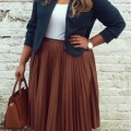 5 stylish ways to wear a plus size pleated skirt as a plus size girl 2 120x120 - 5 stylish ways to wear a plus size pleated skirt as a plus size girl