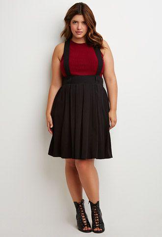 5 stylish ways to wear a plus size pleated skirt as a plus size girl 3 - 5-stylish-ways-to-wear-a-plus-size-pleated-skirt-as-a-plus-size-girl-3