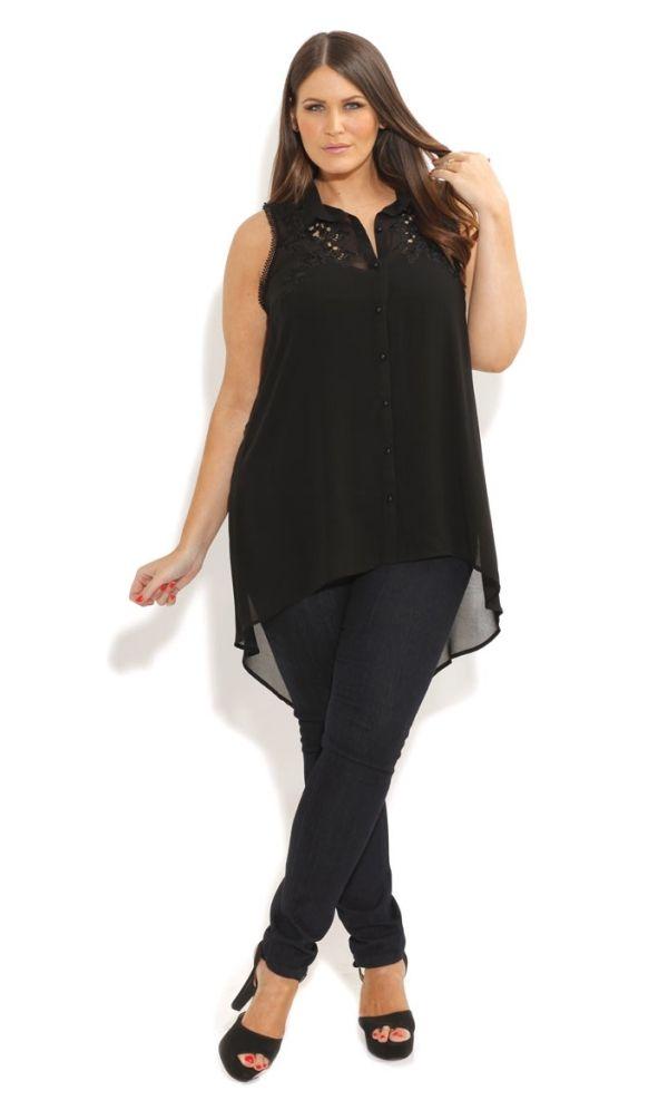 5 ways to wear a chiffon shirt and look amazing 1 - 5-ways-to-wear-a-chiffon-shirt-and-look-amazing-1