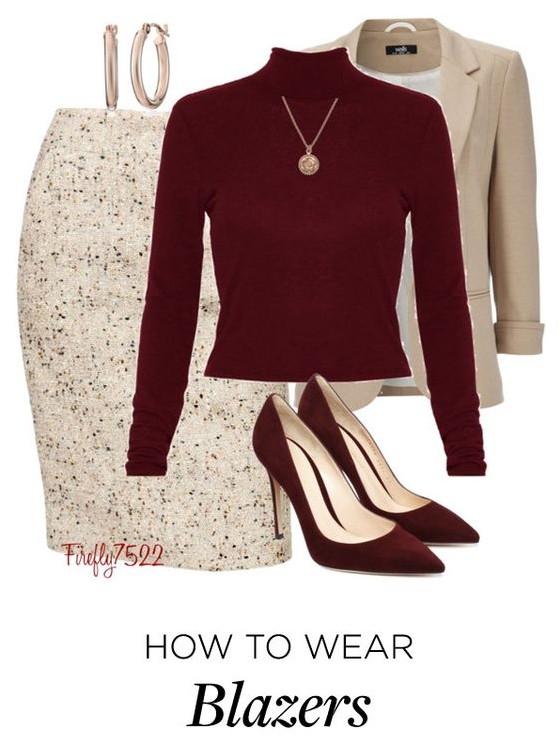 b9a226a0d97 5 ways to wear a plus size tweed skirt - curvyoutfits.com