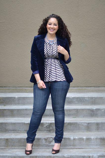 5-ways-to-wear-a-plus-size-velvet-blazer-in-style