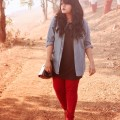 5 ways to wear plus size red pants in glamorous ways 4 120x120 - 5 ways to wear plus size red pants in glamorous ways