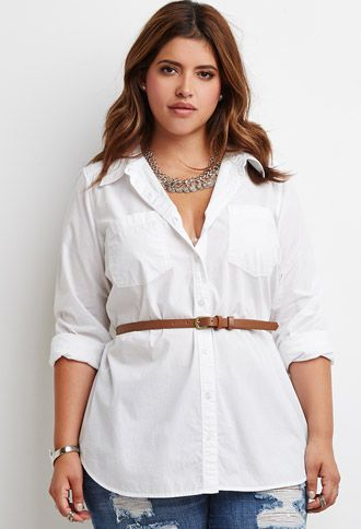 5 ways to wear the plus size white shirt that you will love - 5-ways-to-wear-the-plus-size-white-shirt-that-you-will-love