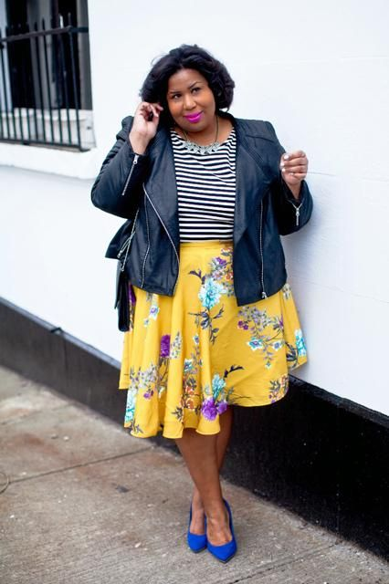 how to combine floral and striped without looking frumpy 2 - how-to-combine-floral-and-striped-without-looking-frumpy-2