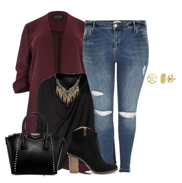 plus size black top casual fall outfit - 5 ways to wear a chic black shirt in flattering ways