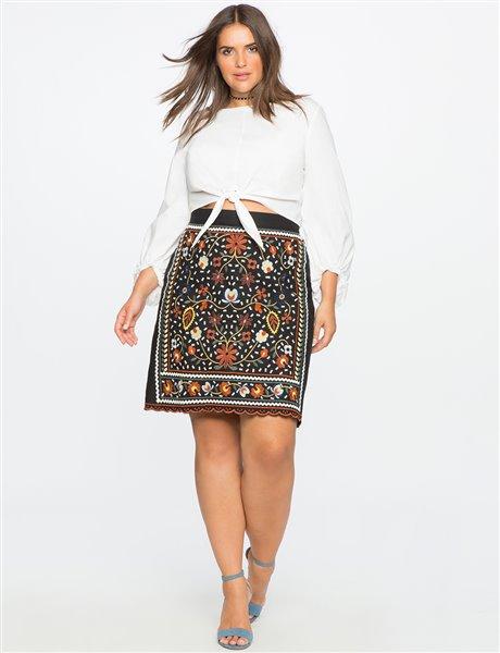 plus size floral skirt 13 - plus size floral skirt 13