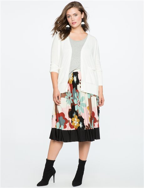 plus size floral skirt 2 - plus size floral skirt 2