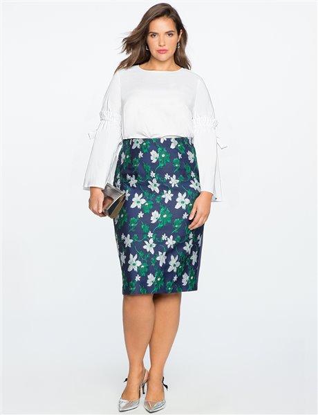 plus size floral skirt 4 - plus size floral skirt 4