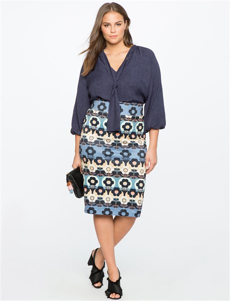plus size floral skirt 5 - plus size floral skirt 5
