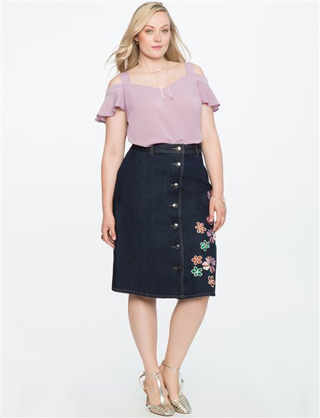 plus size floral skirt 7 - plus size floral skirt 7