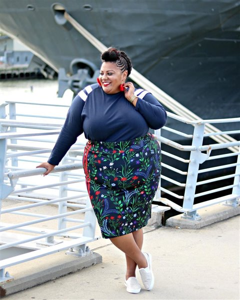 plus size floral skirt 9 - plus size floral skirt 9