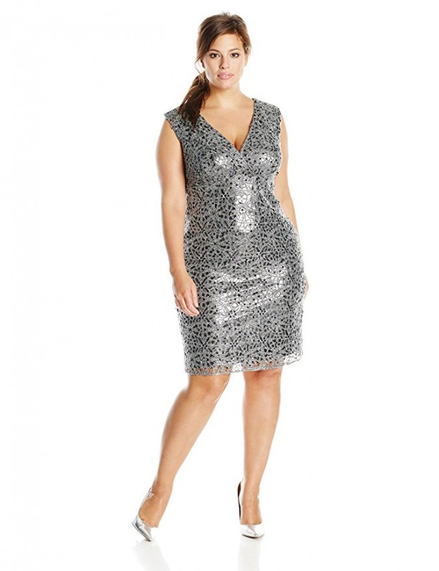 plus size sequin dress outfit - plus size sequin dress outfit