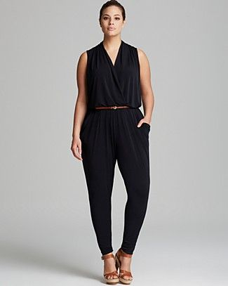 f7aeb0b3c24 The right jumpsuits for petite plus size girls - curvyoutfits.com