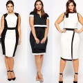 5 chic black and white plus size dresses 120x120 - 5 chic black and white plus size dresses