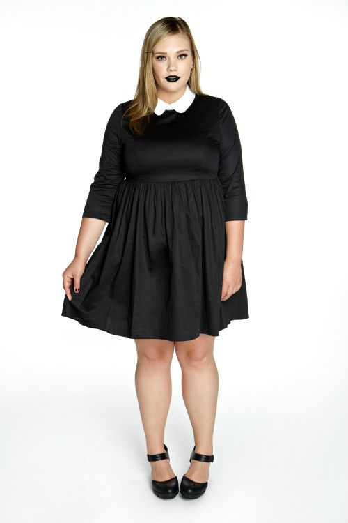 5 chic black and white plus size dresses - Page 3 of 5 ...