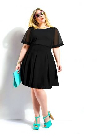 5 plus size outfits for a stylish first date part 1 4 - 5-plus-size-outfits-for-a-stylish-first-date-part-1-4
