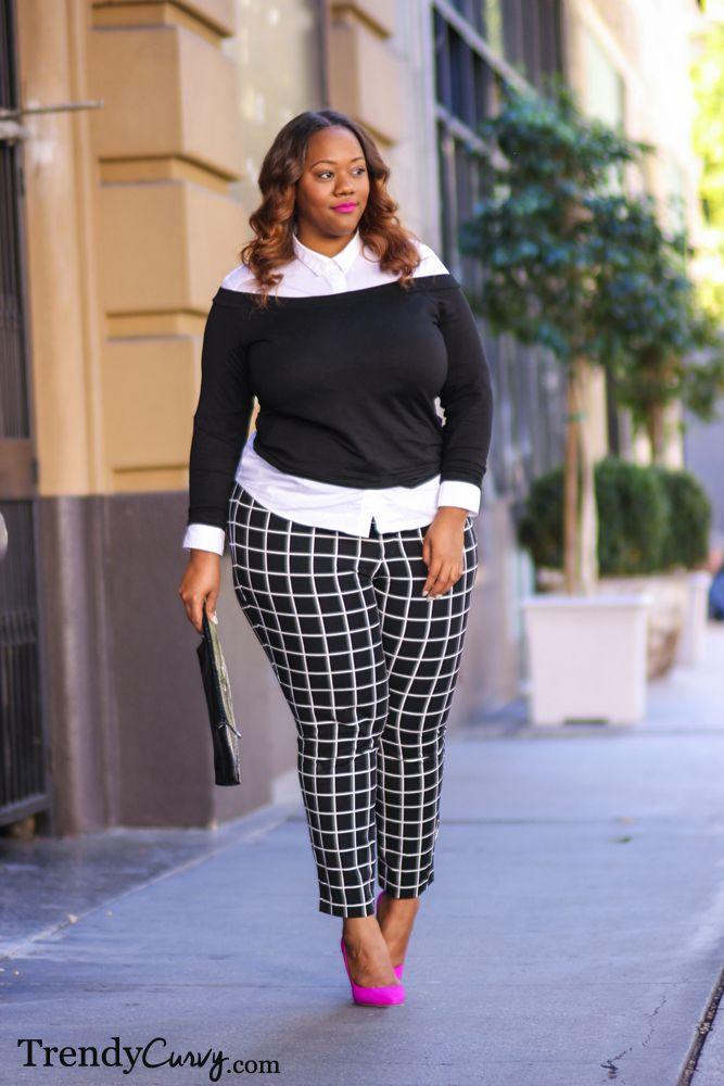 ecac25b2a141 5 stylish ways to wear a plus size black sweater - Page 2 of 5 ...