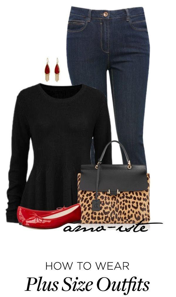 5 stylish ways to wear a plus size black sweater 2 e1457736490493 - 5 stylish ways to wear a plus size black sweater