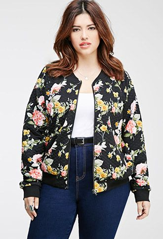 make your outfits glamorous with a floral bomber jacket 1 - make-your-outfits-glamorous-with-a-floral-bomber-jacket-1