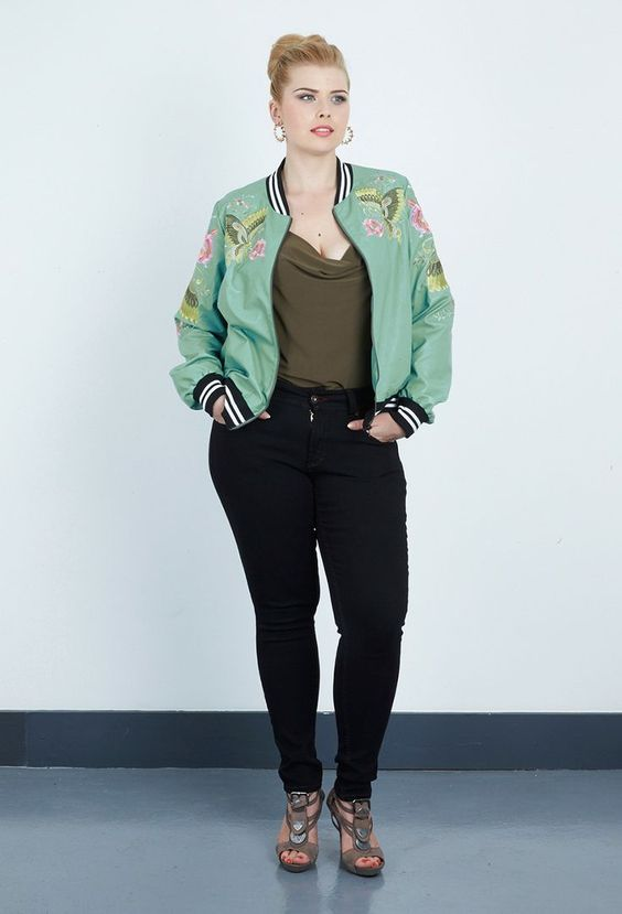 27ab19b8bc892 Make your outfits glamorous with a floral bomber jacket - Page 4 of ...