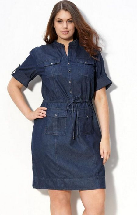 5 blue plus size dresses for spring outfits 4 - 5-blue-plus-size-dresses-for-spring-outfits-4