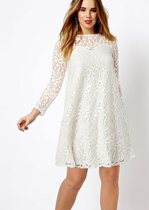 5 chic plus size lace dresses that flatter you figure - Page 3 of 5 ...