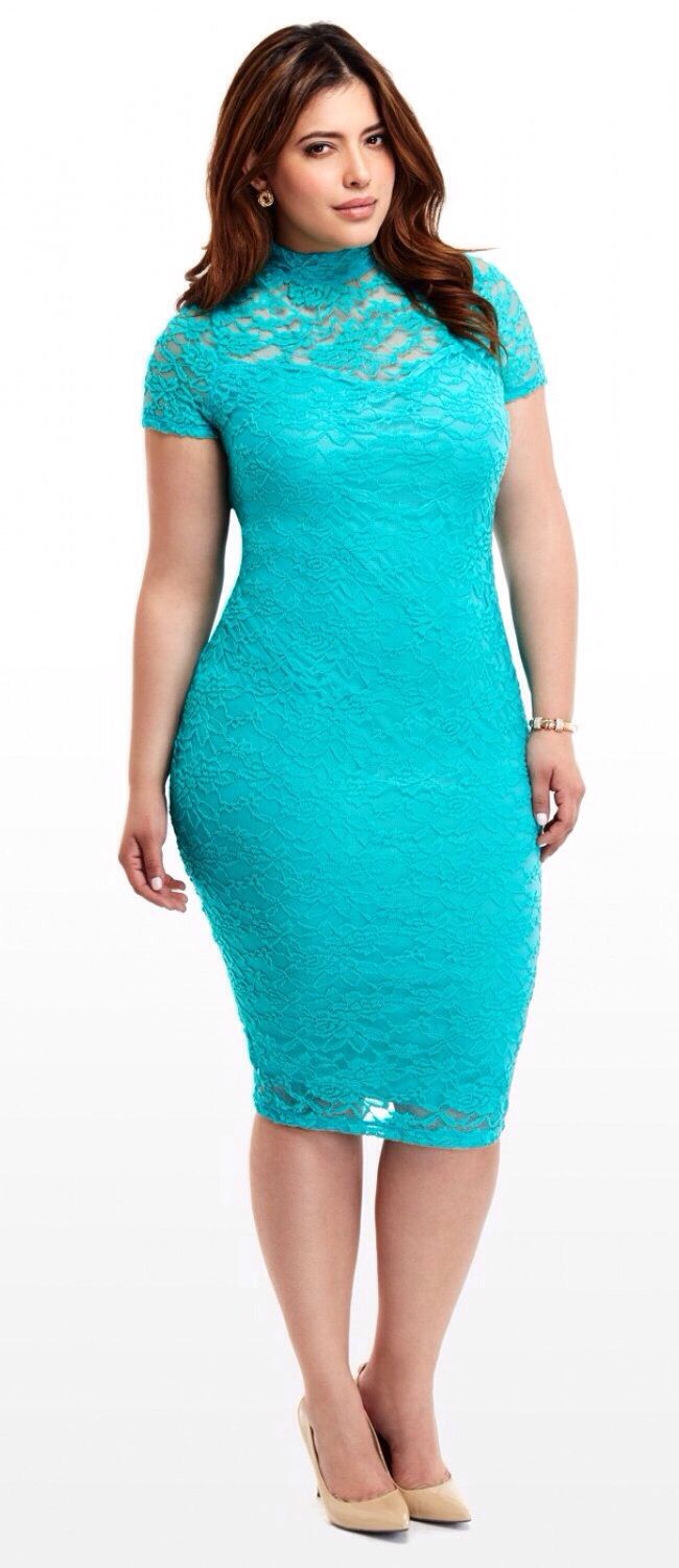 5 plus size chic dresses of lace that flatter you - 5-plus-size-chic-dresses-of-lace-that-flatter-you