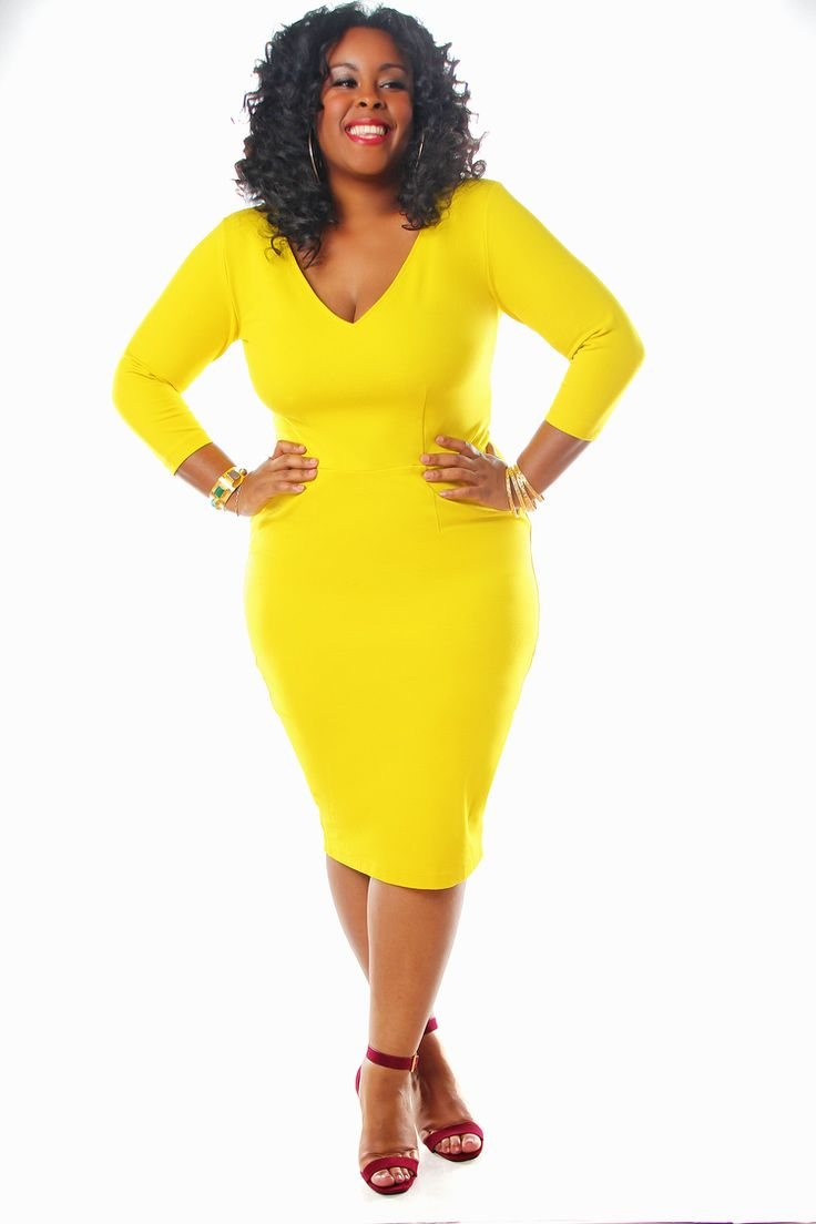 5 spring outfits with a plus size pencil dress 1 - 5-spring-outfits-with-a-plus-size-pencil-dress-1