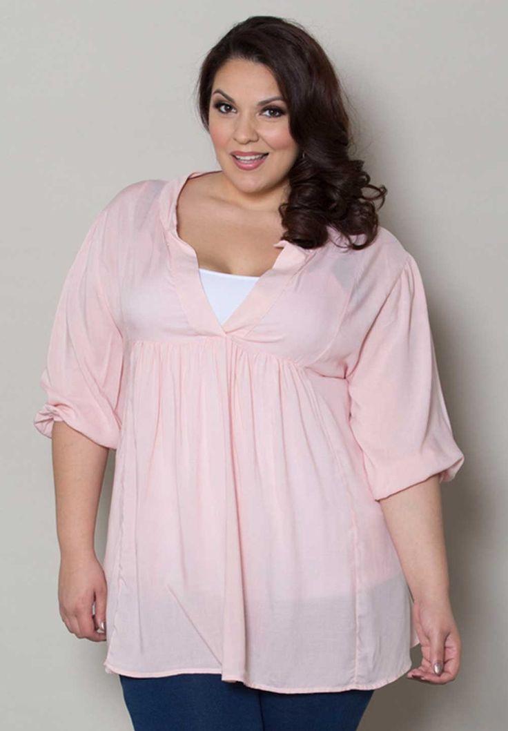 5 stylish ways to wear a plus size pastel top ...