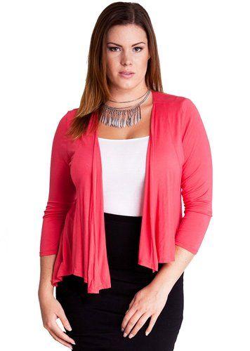 5-ways-to-wear-a-plus-size-pastel-cardigan