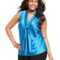 5 ways to wear a plus size satin top 2 120x120 - 5 ways to wear a plus size satin top