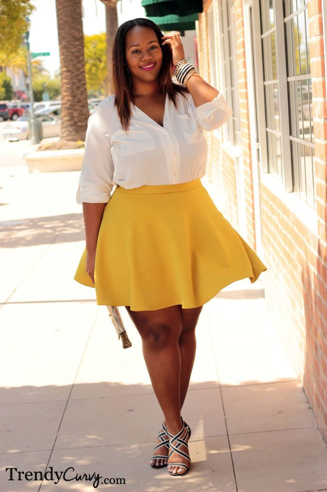 how to be stylish in a plus size skater skirt 12 - how-to-be-stylish-in-a-plus-size-skater-skirt-12